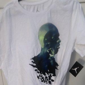 af47200e490e Jordan Shirts - MEN S AIR JORDAN AJ RETRO 13 BLACK CAT TEE sz 2xl